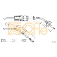 LINKA SPRZ COFLE 10.3411 VW GOLF D 90-91