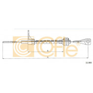 LINKA GAZU COFLE 11.065 VW TRANSPORTER D 82-