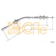 LINKA GAZU COFLE 11.160 BMW= 11.161 -80