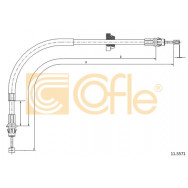 LINKA HAMULCA COFLE 11.5571 FORD TRANSIT 00-