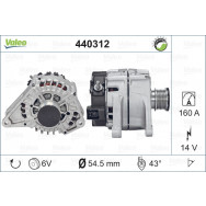 Valeo alternator - z kaucją 440312