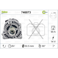 Valeo alternator classic 746073