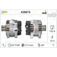 Valeo alternator nowy 439674