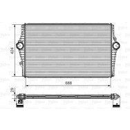 Valeo intercooler 818279