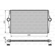 Valeo intercooler 818281