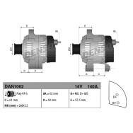 Alternator denso dan1062