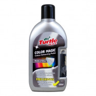Turtle Wax Color Magic PLUS - wosk koloryzujący + kredka do rys GRATIS - srebrny 500 ml TURTLE WAX 70-040 5010322740909