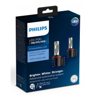 PHILIPS LED H8 H11 H16 12V 9W PGJ19- Fog White PHILIPS 12794UNIX2 8727900397390