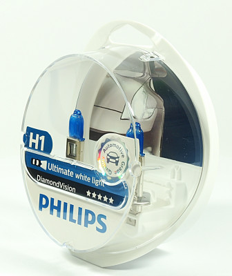 PHILIPS H1 12V 55W P14,5s Diamond Vision PH-12258DVS2 8711500697424