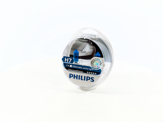 PHILIPS H7 12V 55W PX26d Diamond Vision PHILIPS 12972DVS2 8711500697479