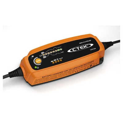 CTEK 56-855 CTEK Battery Charger MXS 5.0 Polar 12V/5A 7350009568555
