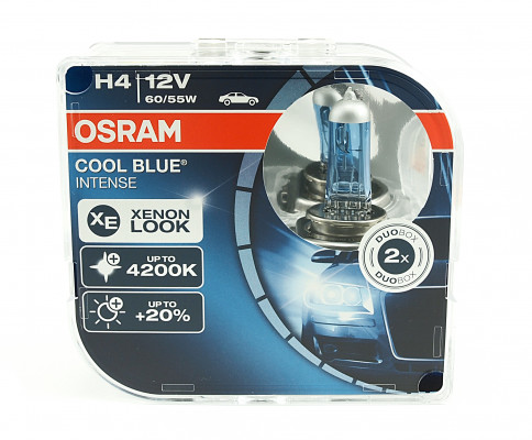 O-64193CBI-HCB PL OSRAM H4 12V 60 55W P43t COOL BLUE Intense (temperatura barwowa do 4200K) 4052899413108 1